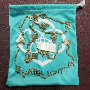 Kendra scott gold devalyn new